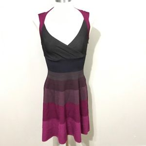 Armani Exchange fit and flare dress Small